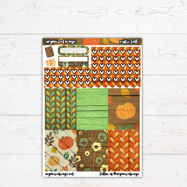 Rustic Fall Classic Weekly Kit