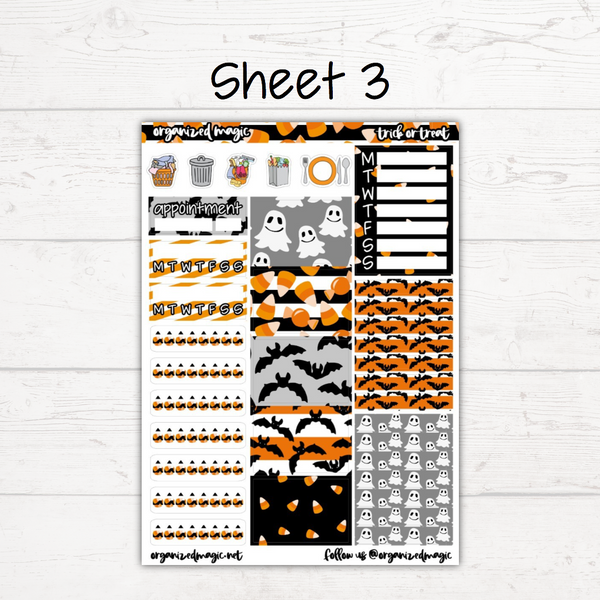 Trick or Treat Deluxe Weekly Kit