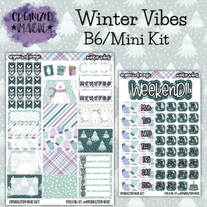Winter Vibes B6/Mini Kit