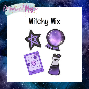 Witchy Mix Die Cuts
