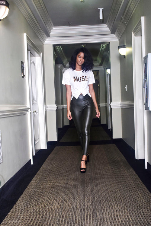 Spotted Muse Tee