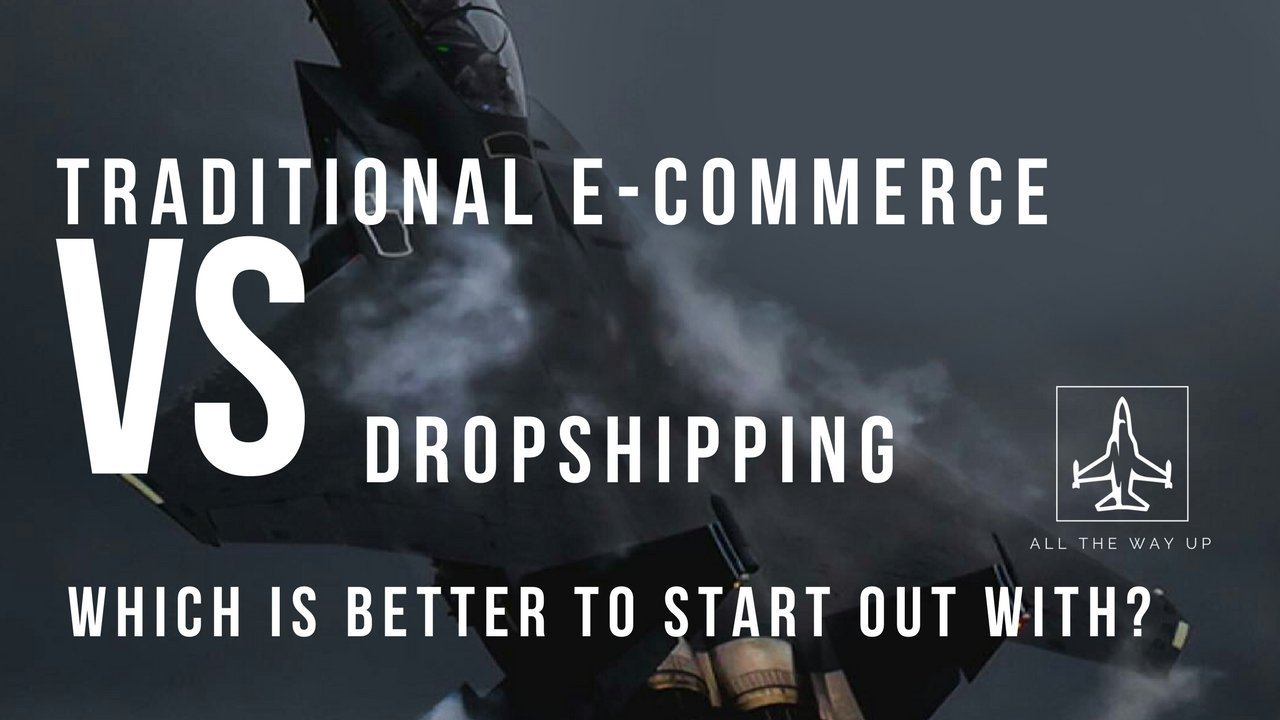 Traditional E-Commerce Store vs Dropshipping
