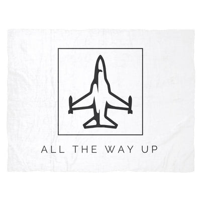 All The Way Up Fleece Blanket