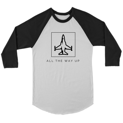 All The Way Up Baseball Shirt