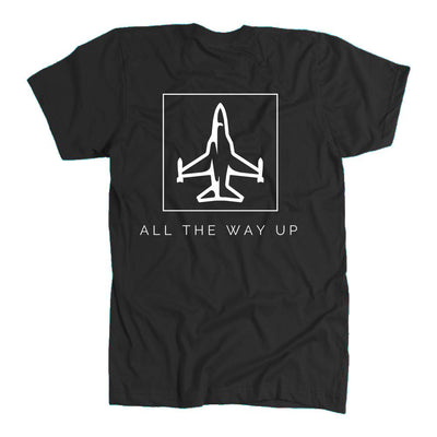 Jet Black All The Way Up Tee