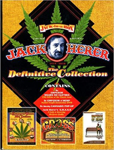 Jack Herer: The Definitive Collection Limited Edition Box Set Books USED Not specified