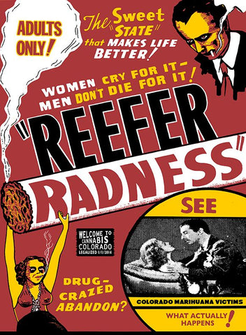 Lindsey Kuhn - SWEET STATE Reefer Radness - Swamp Co. Art