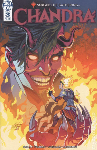 Magic The Gathering Chandra (2018) #3 Comic Book Back Issues IDW Publishing