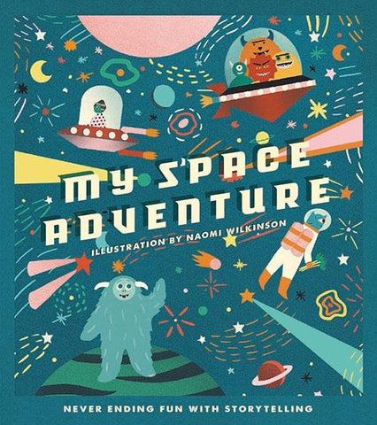 My Space Adventure - Victionary Books NEW