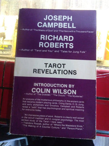 Tarot Revelations by Joseph Campbell and Richard Roberts Books USED Not specified