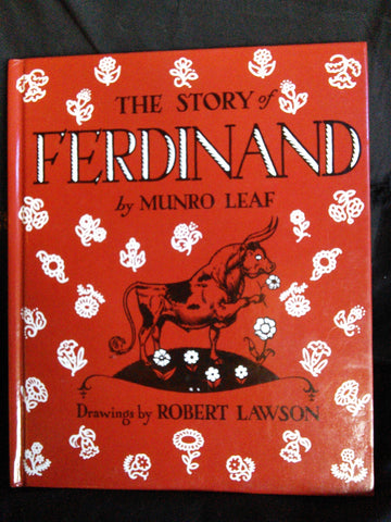 The Story of Ferdinand, Munro Leaf Drawings by Robert Lawson Books USED Viking Press