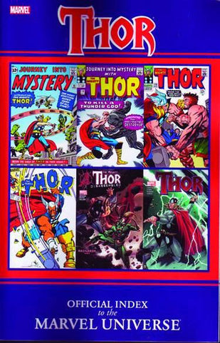 Thor: Official Index to the Marvel Universe - Marvel Comics Comics NEW
