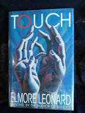 Touch, Elmore Leonard SIGNED First Edition - Arbor House Press Books USED