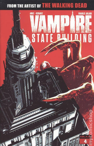 Vampire State Building #4 Comic Book Back Issues Ablaze Comics