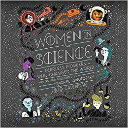 Women In Science Calendar 2020 Books NEW Andrews McMeel Publishing