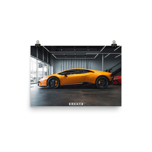 Huracan Performante Poster