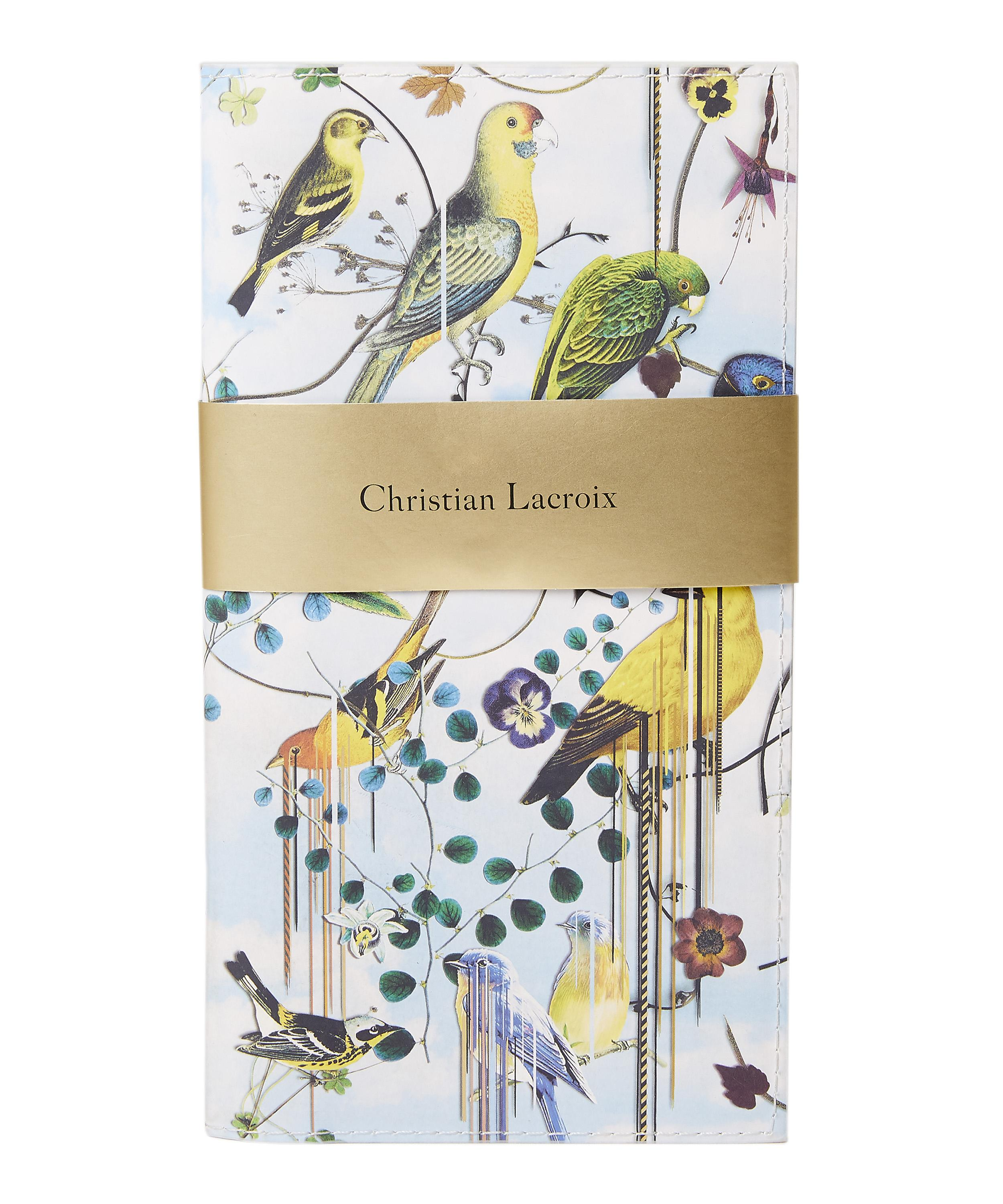 Christian Lacroix Birds Sinfonia Travel Journal