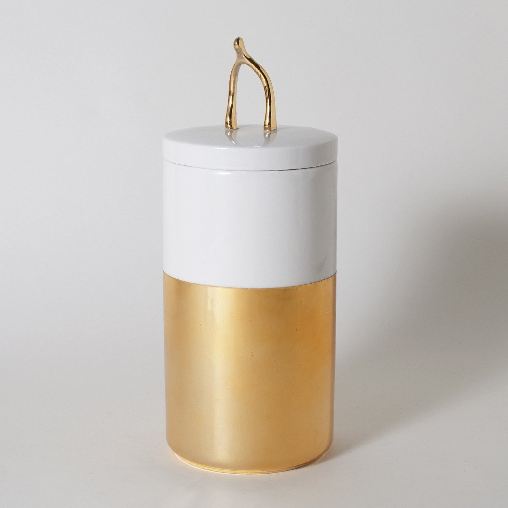 Lucky Break Wishbone Ceramic Canister