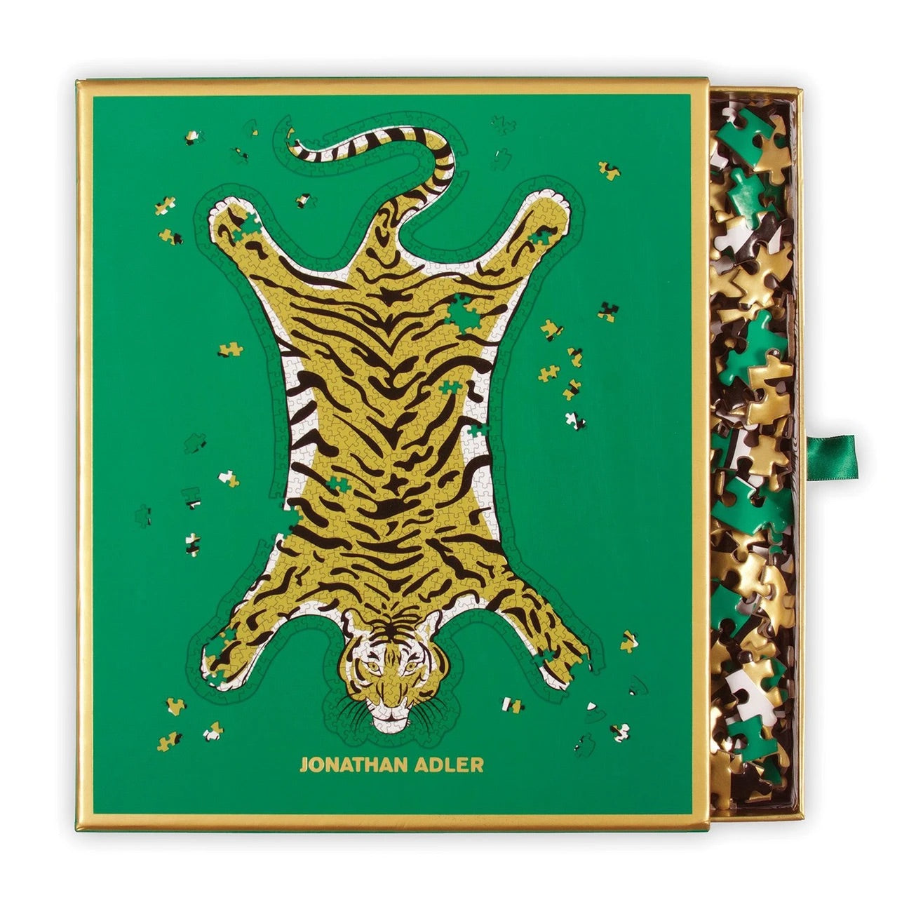 Jonathan Adler Safari 750 Piece Shaped Foil Jigsaw Puzzle