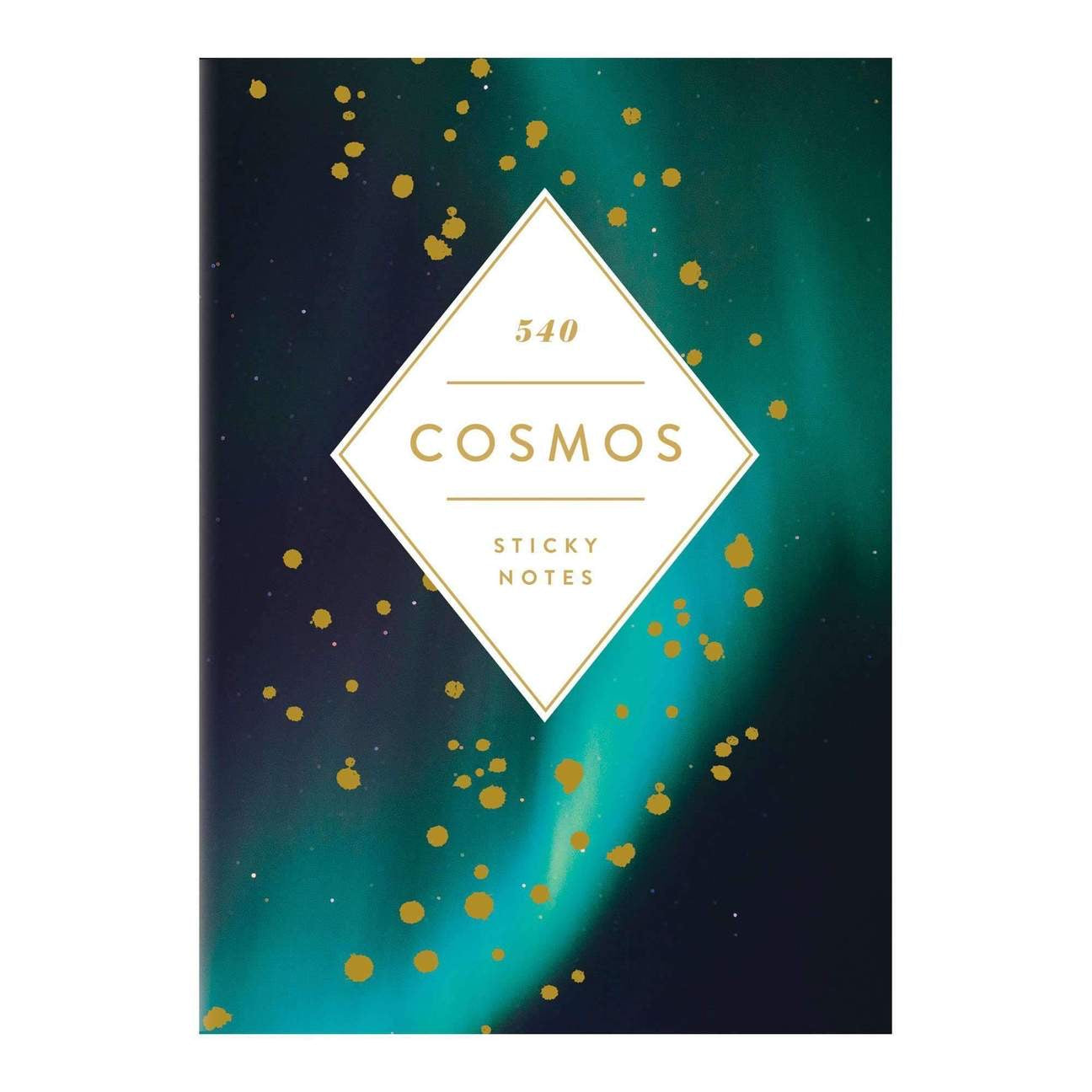 Cosmos Sticky Notes Hardcover Book