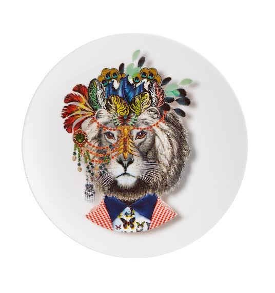 Jungle King Plate