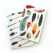 Feather Thank You Notecards Set