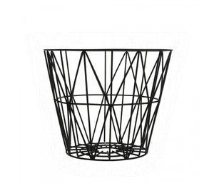 Wire Basket - Black - Small