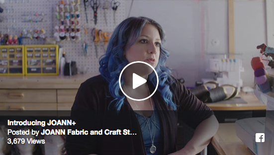 Kaedra in the new JoAnn+ Video!