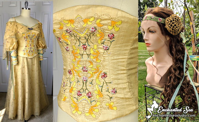 "Padmé Meadow ""Picnic"" Dress: Making Of"