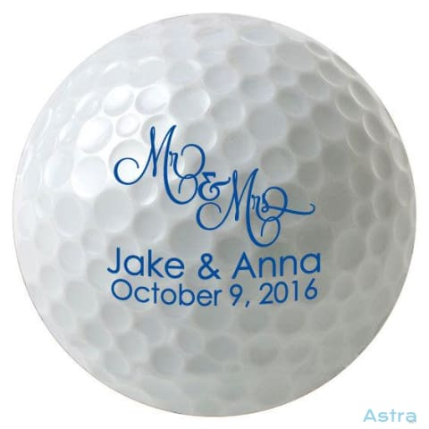 144 Count- Personalized Golf Balls Bulk Orders Bulk Bulk-Items Wedding $269.99 Astraest.com: Astraest