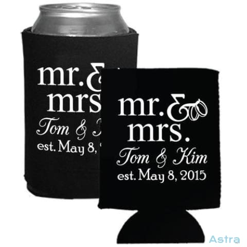 50 Count - Custom Printed Beer Can Cooler Wedding Favors Bulk Orders Bulk Bulk-Items Corporate $84.99 Astraest.com: Astraest