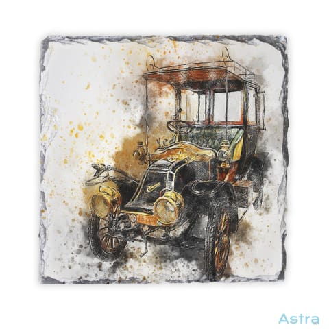 Abstract Antique Car Square Photo Slate Home Decor 10-20 Homedecor Household-1 Photo-Slate Photo-Slates $16.95 Astraest.com: Astraest