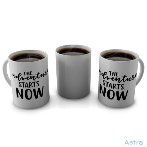 Adventure Starts 11Oz Coffee Mug Drinkware Blue Ceramic Drinkware Mothers-Day Mug $9.99 Astraest.com: Astraest