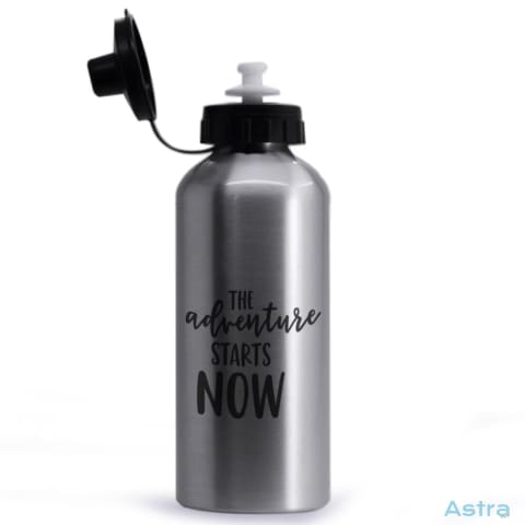 Adventure Starts 20Oz Aluminum Water Bottle Silver Drinkware Aluminum Drinkware Mothers-Day Predrink Premade $17.99 Astraest.com: Astraest