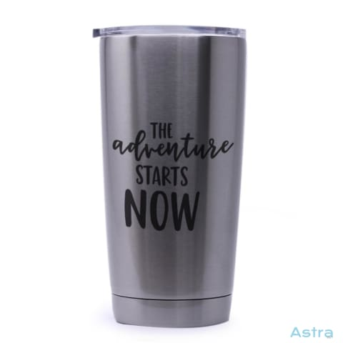 Adventure Starts 20Oz Stainless Steel Tumbler Drinkware Drinkware Mothers-Day Predrink Premade Sayings $29.99 Astraest.com: Astraest