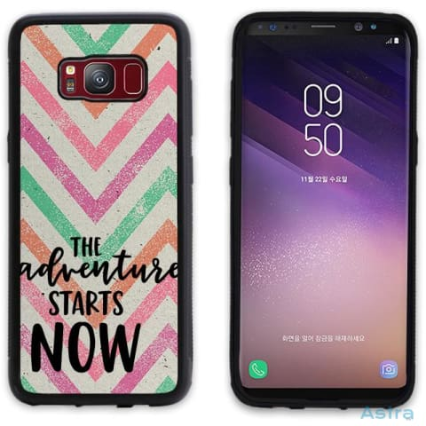 Adventure Starts Personalized Iphone 6 7 8 X Samsung S8 S8 Plus Case Phone Case 10-20 Apple Custom Phone Feature Featured-Products $14.99