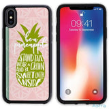 Be A Pineapple Personalized Iphone 6 7 8 X Samsung S8 S8 Plus Case Phone Case 10-20 Apple Custom Phone Feature Featured-Products $14.99
