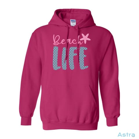 Beach Life Heavy Blend Hooded Sweatshirt Apparel Antique-Sapphire Apparel Clothing Dark-Heather Heliconia $34.95 Astraest.com: Astraest