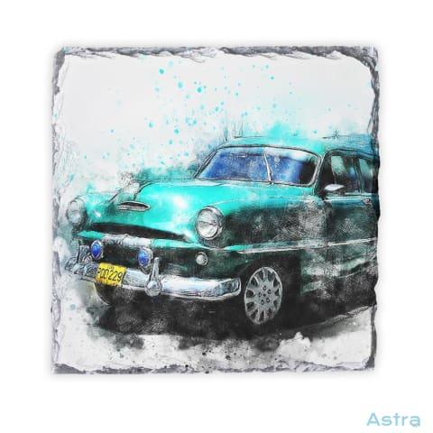 Blue Abstract Car Square Photo Slate Home Decor 10-20 Homedecor Household-1 Photo-Slate Photo-Slates $16.95 Astraest.com: Astraest