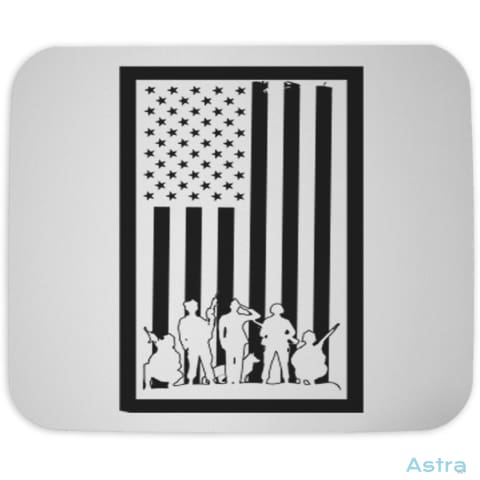 Bordered Flag Mouse Pad Home Decor Cloth Forth Homedecor Household Household-1 $10.95 Astraest.com: Astraest