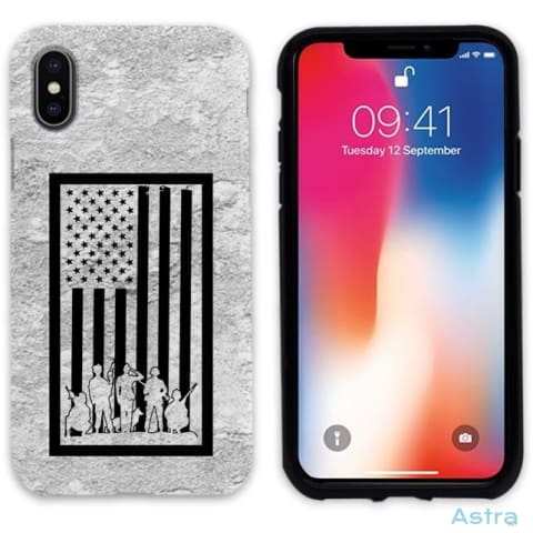 Bordered Flag Personalized Iphone 6 7 8 X Samsung S8 S8 Plus Case Phone Case 10-20 Apple Custom Phone Feature Featured-Products $14.99