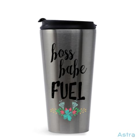 Boss Babe Fuel 16oz Stainless Steel Tumbler