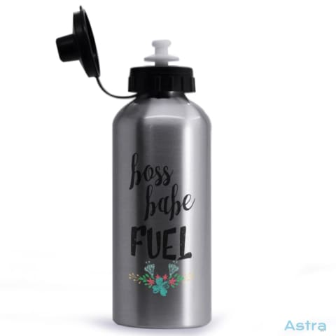 Boss Babe Fuel 20Oz Aluminum Water Bottle Silver Drinkware 10-20 Aluminum Drinkware Mothers-Day Predrink $14.99 Astraest.com: Astraest