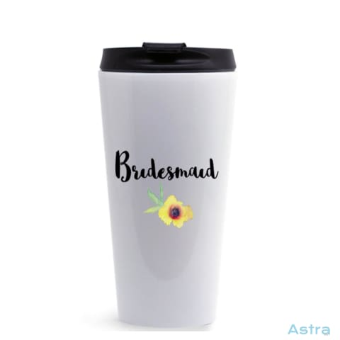 Bridesmaid 16Oz Stainless Steel Tumbler White Drinkware Drinkware Predrink Premade Stainless Stainless-Steel $17.99 Astraest.com: Astraest