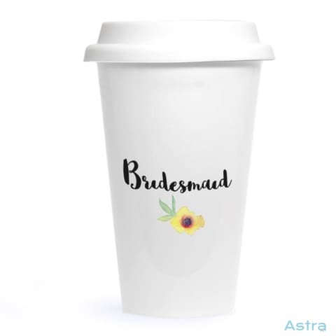 Bridesmaid Ceramic Travel Tumbler Drinkware 20-30 Ceramic Drinkware Predrink Premade $24.99 Astraest.com: Astraest