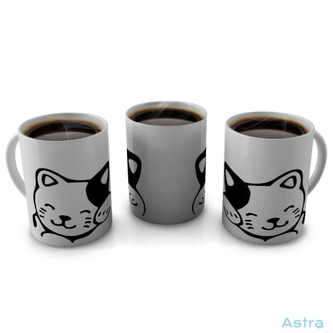 Cat 11Oz Coffee Mug Drinkware 10-20 Blue Ceramic Drinkware Mug $12.99 Astraest.com: Astraest