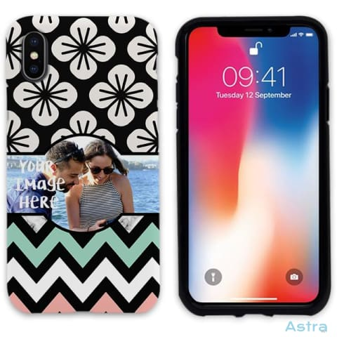 Chevron With Image Personalized Iphone 6 7 8 X Samsung S8 S8 Plus Case Phone Case 10-20 Apple Custom Phone Feature Featured-Products $14.99