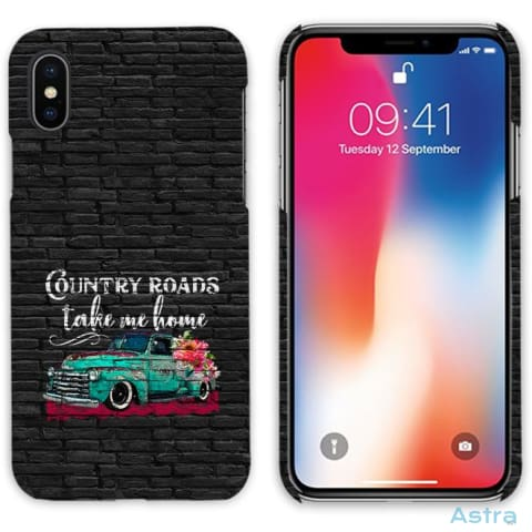 Country Roads Personalized Iphone 6 7 8 X Samsung S8 S8 Plus Case Phone Case 10-20 Apple Custom Phone Feature Featured-Products $14.99
