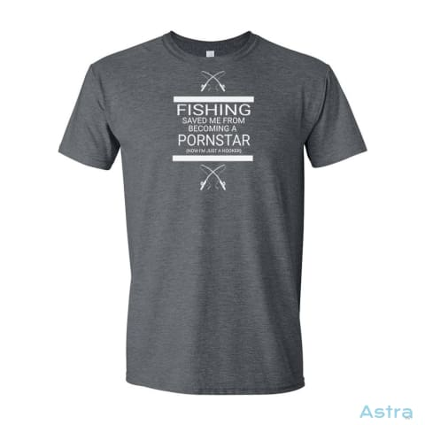 Dad Fishing Mens Soft-Style T-Shirt Apparel Apparel Black Clothing Dark-Heather T-Shirt $19.95 Astraest.com: Astraest