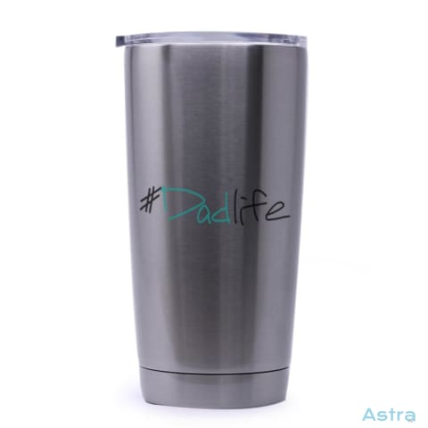 #dadlife 20Oz Stainless Steel Tumbler Drinkware Birthday Drinkware Father Fathers-Day Predrink $29.99 Astraest.com: Astraest